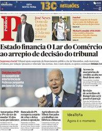 capa Público de 23 setembro 2020