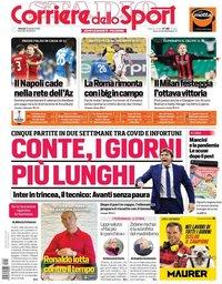capa Corriere dello Sport de 23 outubro 2020