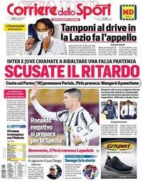 capa Corriere dello Sport de 31 outubro 2020