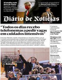 capa Diário de Notícias de 28 outubro 2020
