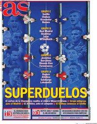 capa Jornal As de 2 outubro 2020