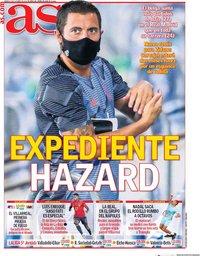 capa Jornal As de 3 outubro 2020