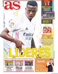 capa Jornal As de 5 outubro 2020