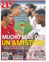 capa Jornal As de 7 outubro 2020