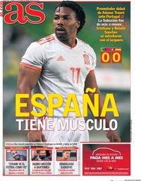 capa Jornal As de 8 outubro 2020