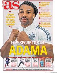 capa Jornal As de 9 outubro 2020