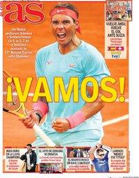capa Jornal As de 10 outubro 2020