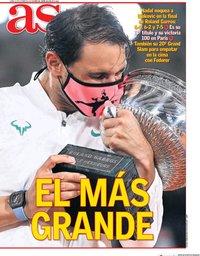 capa Jornal As de 12 outubro 2020