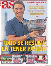 capa Jornal As de 13 outubro 2020