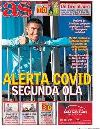 capa Jornal As de 14 outubro 2020