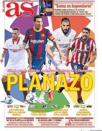 capa Jornal As de 17 outubro 2020