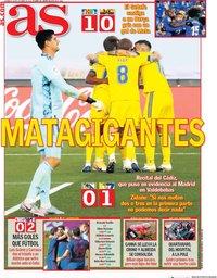 capa Jornal As de 18 outubro 2020