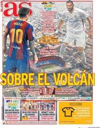 capa Jornal As de 24 outubro 2020