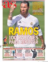 capa Jornal As de 26 outubro 2020