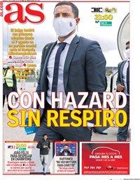 capa Jornal As de 27 outubro 2020