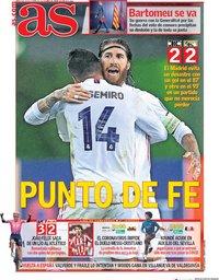 capa Jornal As de 28 outubro 2020