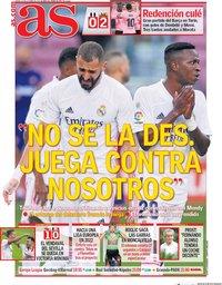 capa Jornal As de 29 outubro 2020