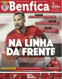 capa Jornal Benfica de 9 outubro 2020