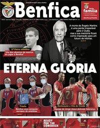 capa Jornal Benfica de 16 outubro 2020