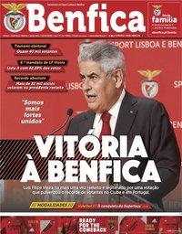 capa Jornal Benfica de 30 outubro 2020