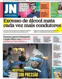 capa Jornal de Notícias de 9 outubro 2020