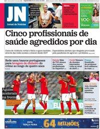 capa Jornal de Notícias de 19 outubro 2020