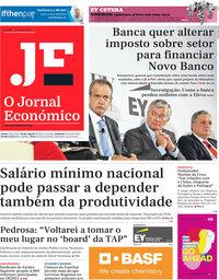 capa Jornal Económico de 2 outubro 2020