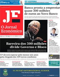 capa Jornal Económico de 9 outubro 2020