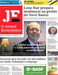 capa Jornal Económico de 16 outubro 2020
