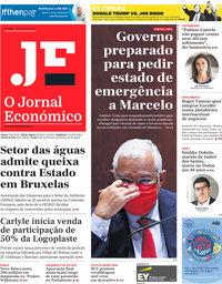 capa Jornal Económico de 30 outubro 2020