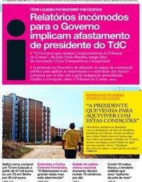 capa Jornal i de 5 outubro 2020
