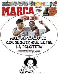 capa Jornal Marca de 1 outubro 2020