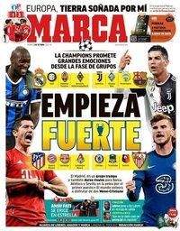 capa Jornal Marca de 2 outubro 2020