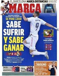 capa Jornal Marca de 5 outubro 2020
