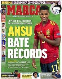capa Jornal Marca de 6 outubro 2020