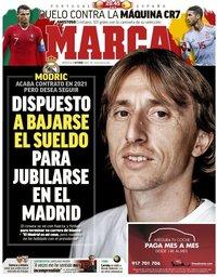 capa Jornal Marca de 7 outubro 2020