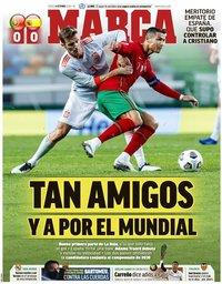 capa Jornal Marca de 8 outubro 2020