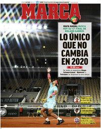 capa Jornal Marca de 9 outubro 2020