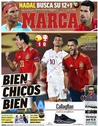 capa Jornal Marca de 11 outubro 2020