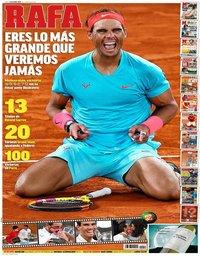 capa Jornal Marca de 12 outubro 2020