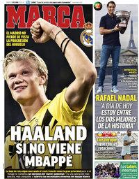 capa Jornal Marca de 13 outubro 2020