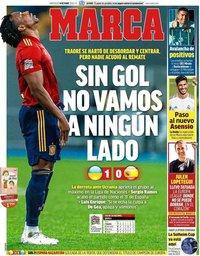 capa Jornal Marca de 14 outubro 2020