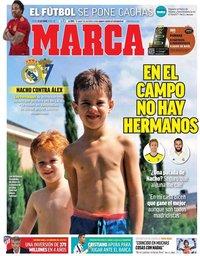 capa Jornal Marca de 15 outubro 2020