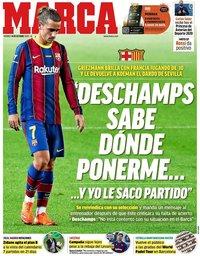 capa Jornal Marca de 16 outubro 2020