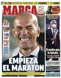capa Jornal Marca de 17 outubro 2020
