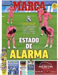capa Jornal Marca de 19 outubro 2020