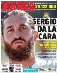 capa Jornal Marca de 20 outubro 2020