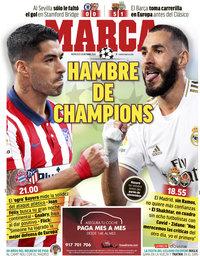 capa Jornal Marca de 21 outubro 2020