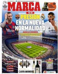 capa Jornal Marca de 24 outubro 2020