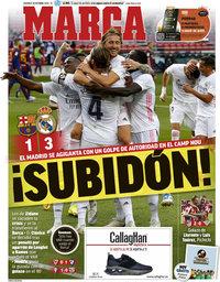 capa Jornal Marca de 25 outubro 2020